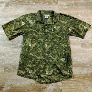 Columbia Hawaiian print shirt